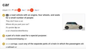 car-definition