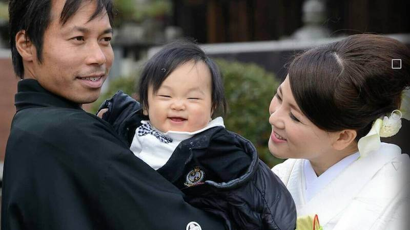 nagatomo-looking-same-noriosan-and -hisfamily