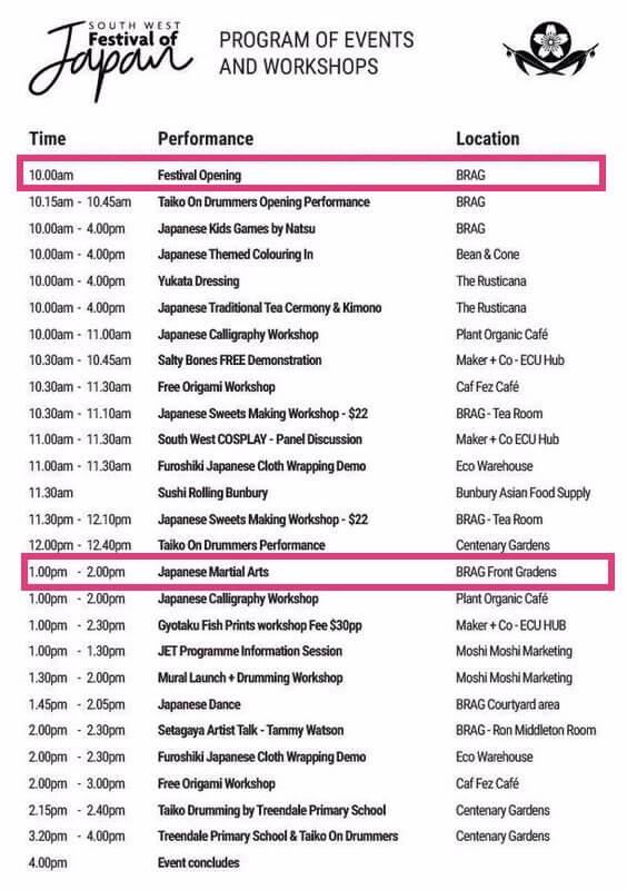timetable-bunuryjapanese-festival-2019